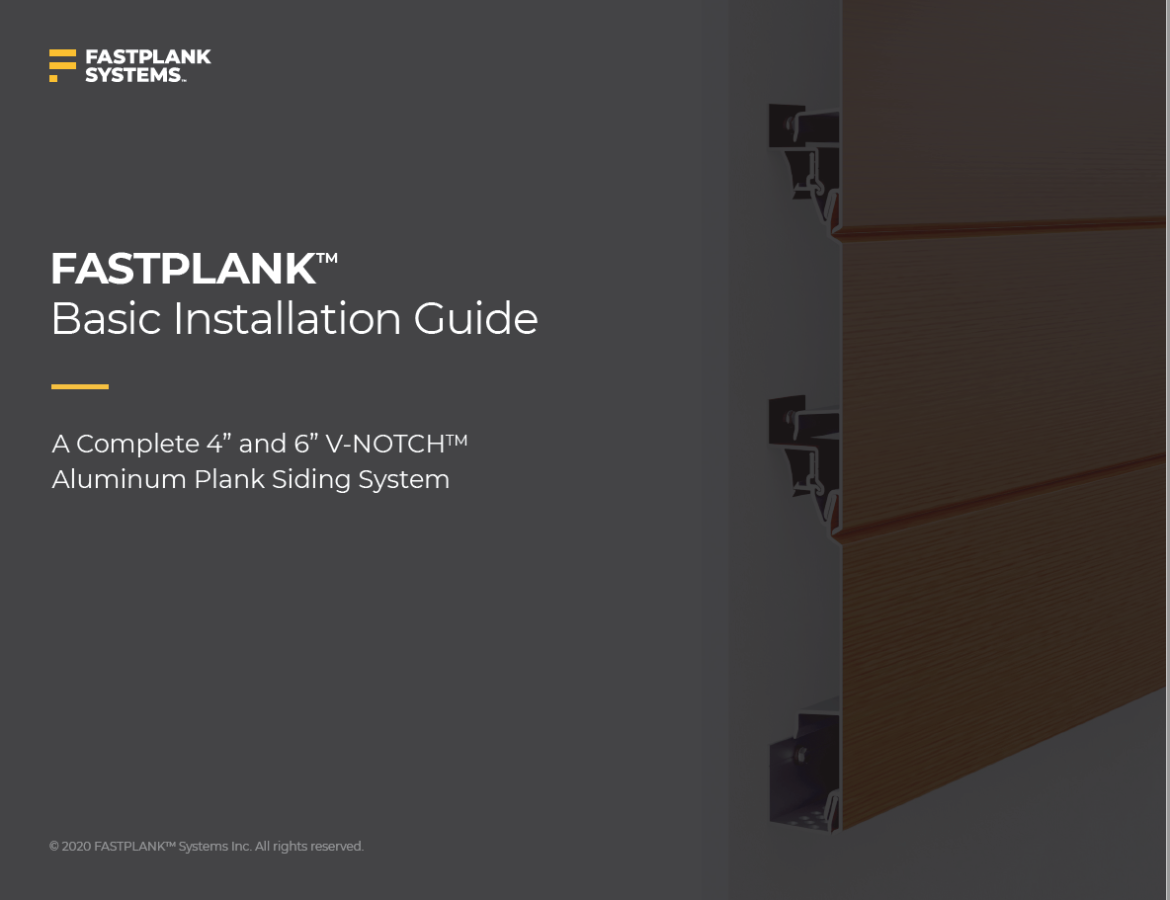 FASTPLANK Installation Guide Cover